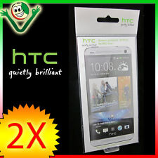 2X PELLICOLA originale HTC specifica pr display ONE M7 trasparente SP P910 nuova