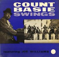 COUNT BASIE FEATURING JOE WILLIAMS swings T 331 world record club LP PS VG+/EX