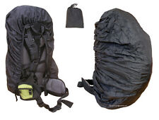 Zaino Pioggia Impermeabile Borsa Da Viaggio Zaino Zaino Poncho COVER Dry nero