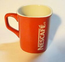 """NESCAFE COFFEE Red Mug Cup from MALAYSIA Promotional Standard 3.5"""" Tall Nestle"""