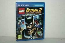 BATMAN 2 DC SUPER HEROES USATO OTTIMO SONY PS VITA EDIZIONE EUROPEA FR1 48094