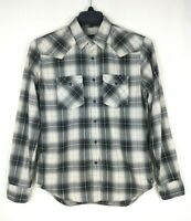 American Eagle Outfitters Mens Button Down Shirt Size S/P Plaid Long Sleeve