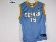22db3fe6181 vtg 90s denver nuggets anthony reebok NBA basketball shirt jersey