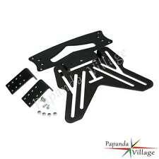 Universal Motorcycle Number License Plate Hanger Tail Tidy Holder Bracket Black