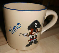 Tasse Kindertasse Pirat Timo