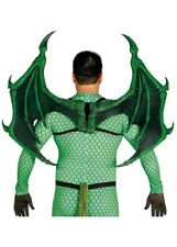 Deluxe Large Green Dragon Wings