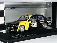 Minichamps BMW M3 MK-Motorsport Kurt Thiim 1988 DTM #31 LTD ED 1/43