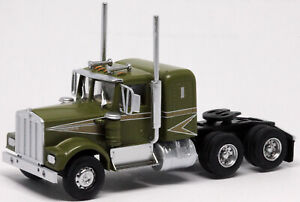 Athearn HO KW Kenworth Owner-Operator Truck Tractor Green-Gold 1/87 ATH41046 NEW