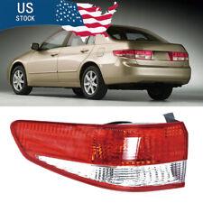 Left Driver Side Tail Light For Honda Accord Sedan 2003 2004 Brake Stop Lamps Us
