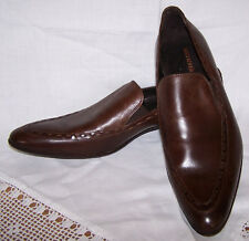 "Mens Kurt Geiger Brown Leather Shoes "" Sir Les "" Size 42.5 UK 8.5"