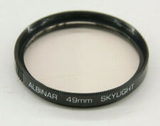 Albinar - 49mm Skylight Lens Filter with Case - Used - C1354