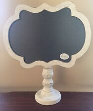 Wood ChalkBoard Stand ~ Distressed Sign Note Memo  Farmhouse Wedding Decor