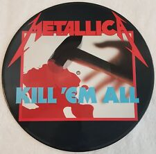 "METALLICA Kill 'em all - 12"", 33 RPM, LP, Picture Disc"