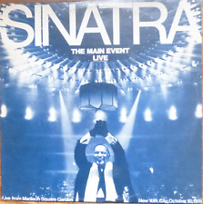 FRANK SINATRA - THE MAIN EVENT LIVE- rare israeli first pressing 1974 LP