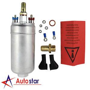 NEW 300LPH Universal External Inline Fuel Pump Replacing For BOSCH 0580254044