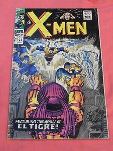 The X-MEN #25 - First full appearance of El Tigra (1963 1st series)