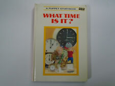 What Time Is It, Puppet Storybook, Shiba, Izawa & Hijikata, 1968