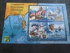 GIBRALTAR 1999 Maritime Heritage Mini sheet SG 876 mnh
