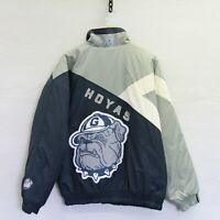 Vintage Georgetown Hoyas Players Association Shain Insulated Jacket XL NCAA