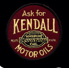 Kendall Motor Oil Patch Pennsylvania Gas Station Gasoline Hot Rod