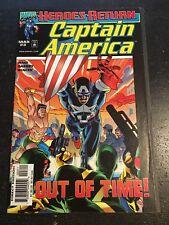 Captain America#3 Incredible Condition 9.0(1998) Avengers, Hydra,Garney Art!!
