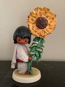 DeGrazia Goebel 1983 The Sunflower Numbered 10 313 Figurine