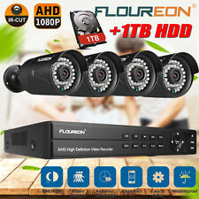 8CH Channel HDMI 1080N 1TB CCTV DVR Night Vision 3000TVL Security Camera System