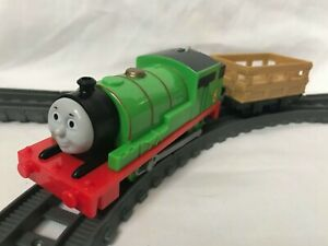 Thomas the Tank Engine Trackmaster Percy Train with Carriages