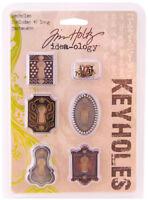 Tim Holtz Idea-ology Keyholes Embellishments Scrapbook