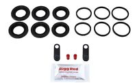 for VW TOUAREG 02-10 FRONT Brake Caliper Seal Repair Kit 330mm discs 17z Brembo