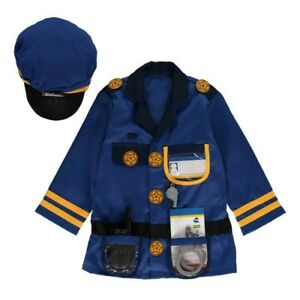 Melissa and Doug - Police Officer Role Play Costume Set