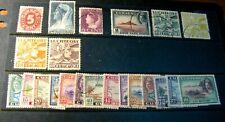 Curacao-Netherlands Antilles Stamp Lot  Used L279