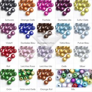 10 mm 20-100 Pcs Perles Magique Miracle Ronde 3D Acrylique 18 Couleurs au choix