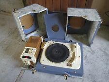 Ancien tourne disque vintage Claude PAZ & VISSEAUX french antique