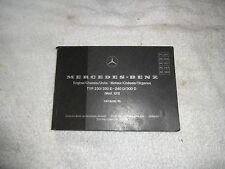1978 1979 Mercedes W123 parts manual Catalogue E  230 280E 240D 300D