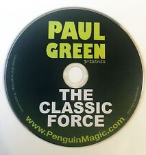 Paul Green Presents The Classic Force DVD -Magic