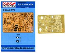 Marabu Models 1/72 SUPERMARINE SPITFIRE Mk.XVIe Photo Etch Detail Set