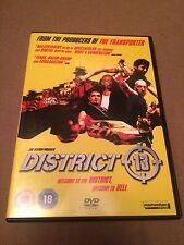 District 13 (DVD, 2006) region 2 uk dvd, enlish dubbed