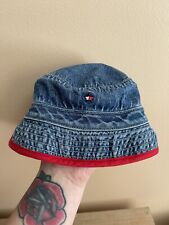 Vintage Tommy Hilfiger Baby Denim Bucket Hat, Size Small
