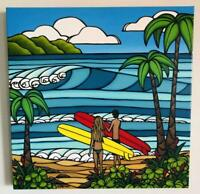 Heather Brown Original Art Print Hawaii A Day In The Life Limited Edition F/S
