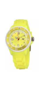 Ice-Watch Sunshine Yellow Dial Silicone Strap Unisex Watch SUN.NYW.S.S.13