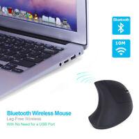 Ergonomisches 1600DPI Drahtlose Wireless Bluetooth-Mausspiel Vertikale Maus USB
