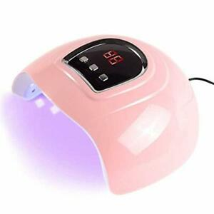 Anself 54W Secador de Uñas de Gel Lámpara LED UV Uñas Máquina de Curado 3 mod...