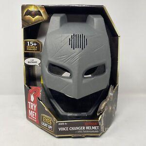 DC Comics Batman v Superman: Dawn of Justice Batman Voice-Changer Helmet NEW