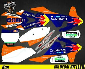 Kit Déco Moto pour / Mx Decal Kit for Ktm SX / SX-F - GoPro