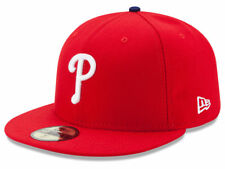 newest a47f8 4cc9b New Era Philadelphia Phillies GAME 59Fifty Fitted Hat (Red) MLB Cap