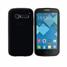 Cover per Alcatel One Touch Pop C5, in silicone TPU trasparente Nero
