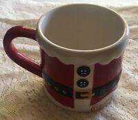 Coca Cola Santa Mug Suit Square Belt Coffee Christmas Ceramic Cup Holiday