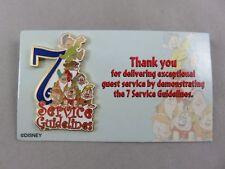 Disney WDW Pin - Cast Member - 7 Service Guidelines - Snow White's Seven Dwarfs