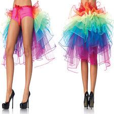 Sexy Adulte Femme Jupon Ballet Tutu Multicouche Princesse Jupe Mini Robe Fête